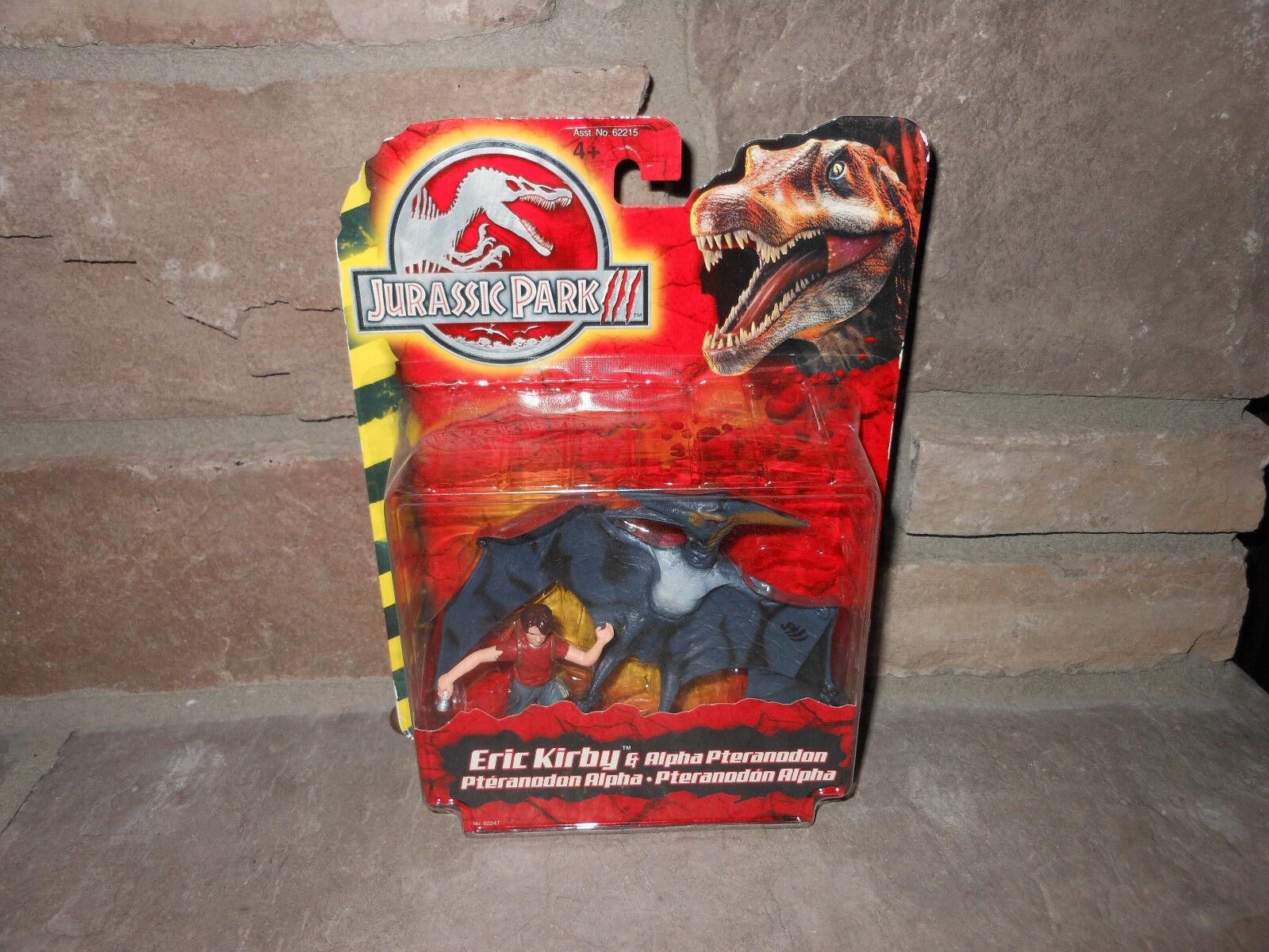 Jurassic Park III 3 Eric Kirby w Alpha Pteranodon MOC