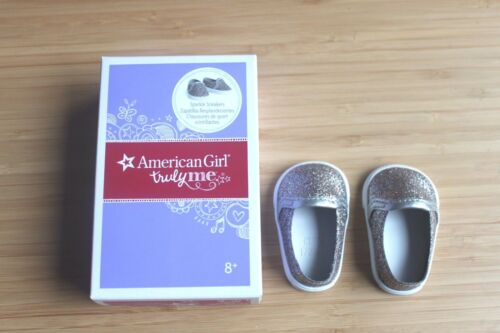 American girl a pair of shoes Sparkle sneakers kit 18/'/' doll  new in box