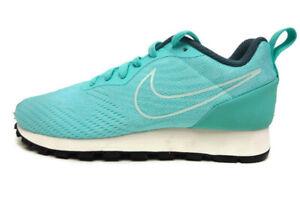 04124e769 NIKE Women s MD Runner 2 Running Shoes Size US 6 M Aurora Green ...