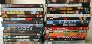 DRAMA-Movies-DVD-Lot-Of-27-sum-of-all-fears-monster-black-mass-machinist