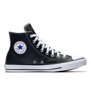 CONVERSE-Scarpe-UOMO-DONNA-Shoes-034-All-Star-Hi-Leather-034-Originali-NUOVE-New-PELLE