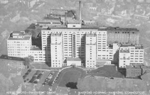 HARTFORD, CT Connecticut HARTFORD HOSPITAL Aerial View