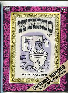 Weirdo-5-Second-Printing-July-1982-Robert-Crumb-underground-comix-MBX90
