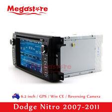 "6.2"" Car DVD GPS Navigation Head Unit Stereo Radio For Dodge Nitro 2007-2011"