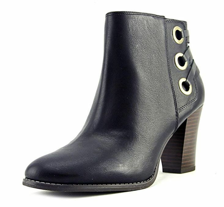 INC International Concepts Jesaa Jesaa Jesaa Women US 6 Black Ankle Boot e6f15e