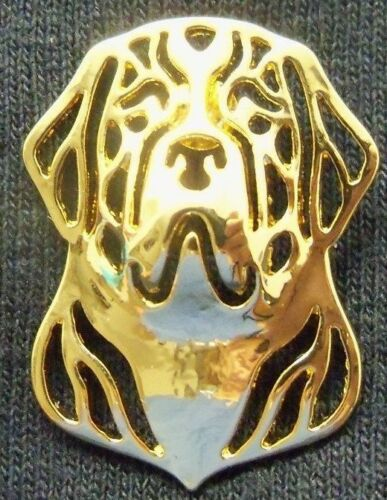 SAINT ST BERNARD Dog PIN Goldtone  ~ Dog Lover