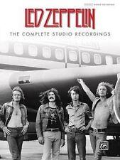 Led Zeppelin Complete Studio Recordings Authentic Guitar Tab Hardbound Book NEW!