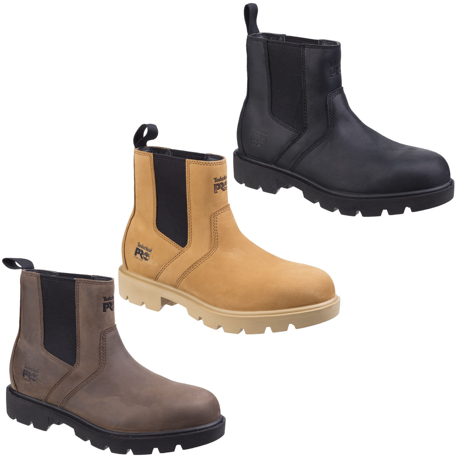 Timberland Pro 26135 SawHorse Dealer Safety Boot Water Resistant Honey Size 9