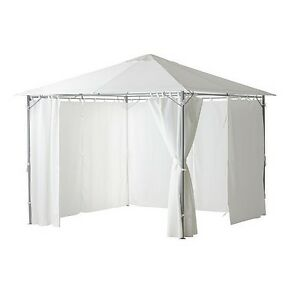 Image is loading CANOPY-ONLY-for-the-Ikea-Karlso-3m-Square-  sc 1 st  eBay & CANOPY ONLY for the Ikea Karlso 3m Square Patio Gazebo (801.988.46 ...