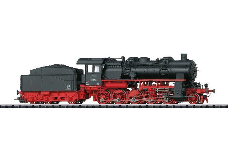 Trix 22936 TRENO MERCI-Locomotiva a vapore serie siano 58.10-21 Merce Nuova