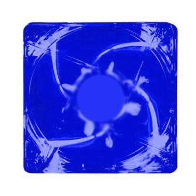 Kingwin CFBL-012LB 120 x 120 mm Long Life Bearing LED Case Fan Blue