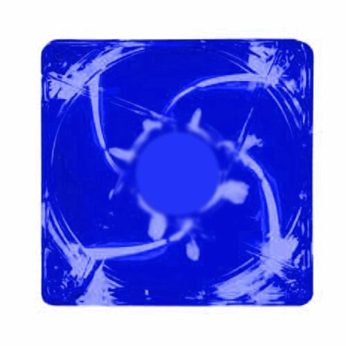 Kingwin CFBL-012LB 120 x 120 mm Long Life Bearing LED Case Fan Blue