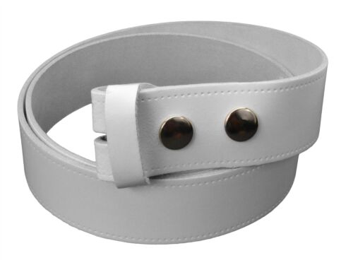 38mm Bullet 69 Without Buckle Leather Press Stud Belt