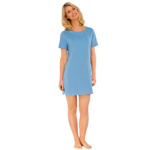 Schiesser Donna bigshirt Camicia da notte a maniche corte Sleepshirt 1//2-arm 36-48 s-4xl NUOVO