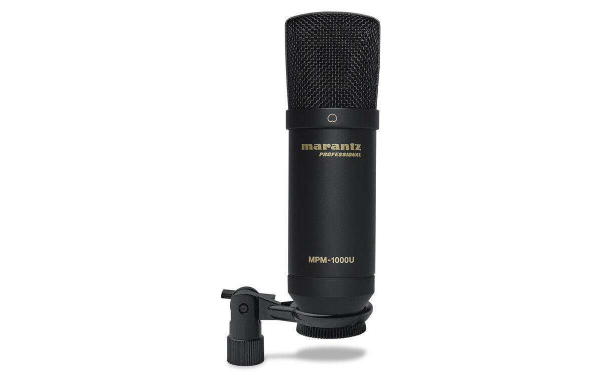 Marantz Professional MPM-1000U USB Premium Condenser Microphone with Pop-Shield