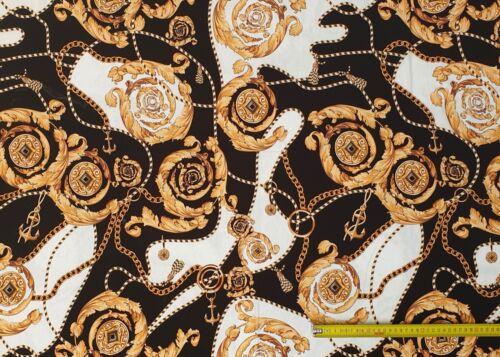 Stoffe Viskose Jersey Digitaldruck Deko Bekleidung Viskose Elasthan 180cm Breit
