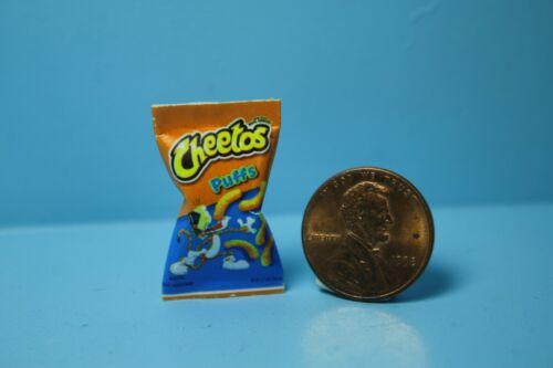 Dollhouse Miniature Replica Bag of Cheetos Cheese Puffs ~ HR54324