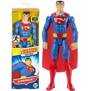 Mattel-FBR03-DC-Comics-Justice-League-Superman-30cm-Toy-Box-Damaged