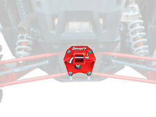 "SuperATV 2"" Rear Receiver Hitch for Polaris RZR XP 1000 (2017+) - Red"