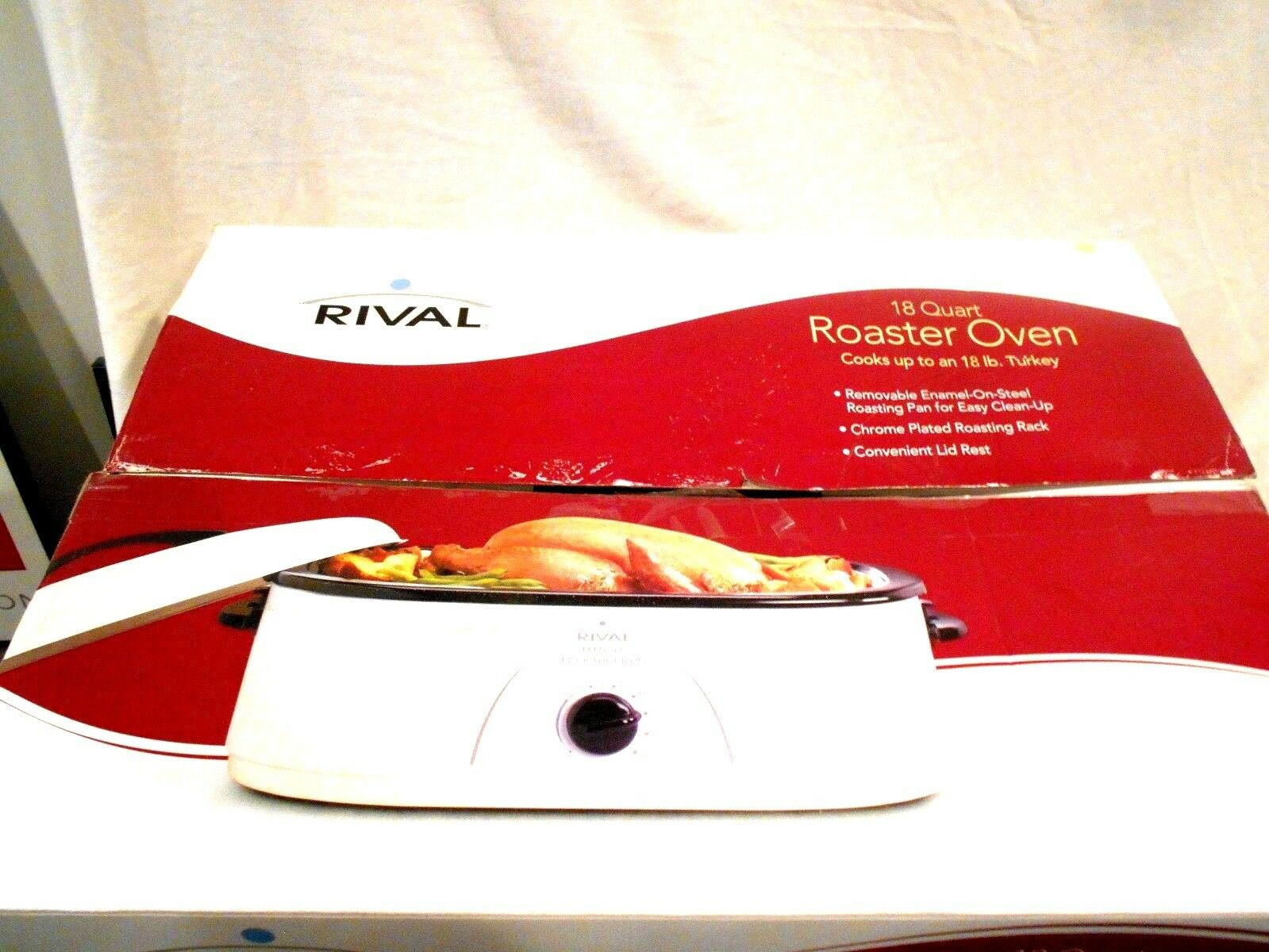 Rival 18 QT Sauteuse Four New in Box