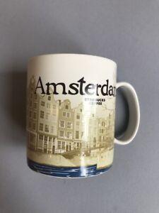 STARBUCKS-COFFEE-Global-Series-Icon-Mugs-AMSTERDAM-EUC