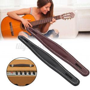 Guitarras-amplificador kit con pinzamiento cinturón vintage cosidos cuero para Fender amp, n