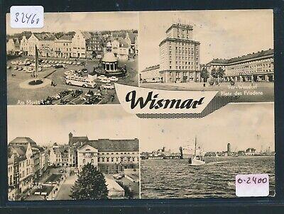 32460) Ak Wismar, Mbk Markt Platz Des Friedens..o 1966