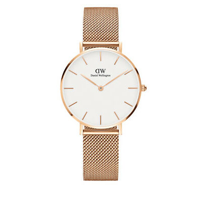 NEW Daniel Wellington DW00100163 Classic Petite Melrose 32mm Watch Rose