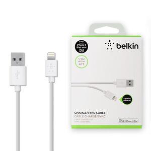 belkin ladekabel lightning kabel usb sync datenkabel apple. Black Bedroom Furniture Sets. Home Design Ideas
