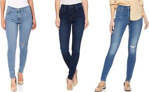 Levis-720-High-Rise-Super-Skinny-Womens-Hi-Waist-Blue-Wash-Soft-Stretch-Denim