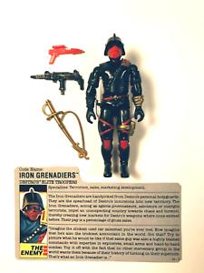 GI JOE Iron Grenadiers 1988 Complete