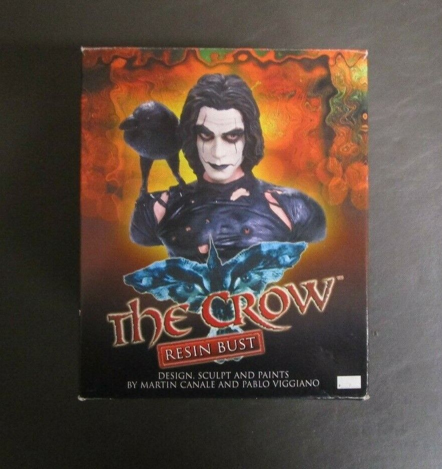 The Crow Resin Bust DYNAMIC FORCES Limited Edition  1994 MIB GV