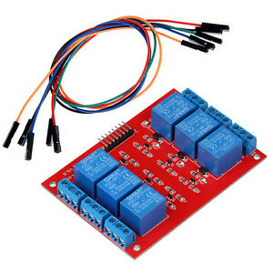 Details about 5V Six 6 Channel Relay Module with jumper wire for Arduino on arduino motor, arduino switch, arduino thermostat, arduino sensors, arduino starter kit, arduino thermistor, arduino transistor, arduino car, arduino program, arduino display, arduino thermocouple, arduino radar, arduino computer, arduino schematic, arduino blink, arduino breadboard, arduino circuit, arduino garden, arduino solenoid, arduino pins,