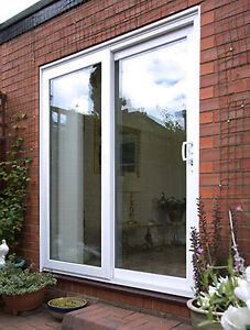 Upvc patio doors white sliding door made to measure 2300mm x image is loading upvc patio doors white sliding door made to planetlyrics Gallery