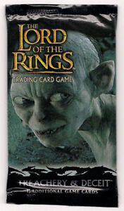 LOTR TCG T&D TREACHERY AND DECEIT BOOSTER WRAPPER no cards but very cool - Deutschland - LOTR TCG T&D TREACHERY AND DECEIT BOOSTER WRAPPER no cards but very cool - Deutschland