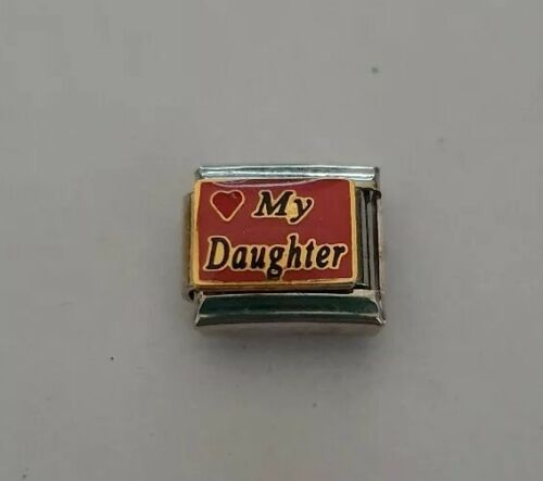 ❤ My Daughter Italian Charm 9mm Classic Size