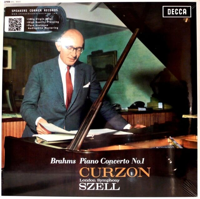 BRAHMS  DECCA  SXL-6023  PIANO CONCERTO NO.1  SZELL  CURZON  180G