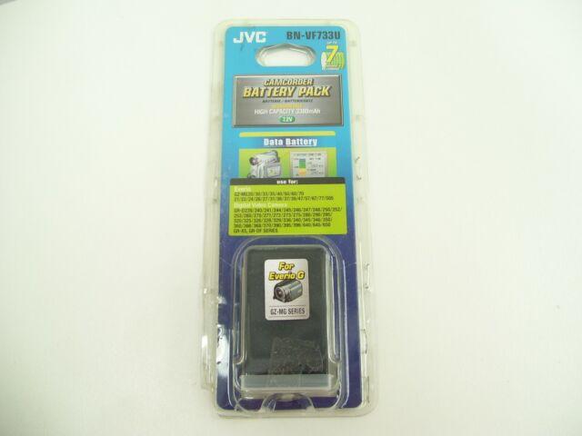 JVC BN-VF733U GENUINE DIGITAL CAMERA CAMCORDER BATTERY PACK EVERIO 7.2V 3300MAH