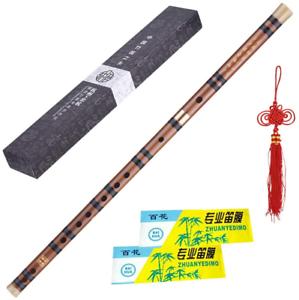 ammoon D key Bamboo Flute Dizi Pluggable Bitter Traditional Handmade Chinese Key