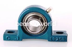 """NEW SBLP206-18G  High Quality 1-1/8"""" Set Screw Bearing with Pillow Block"""
