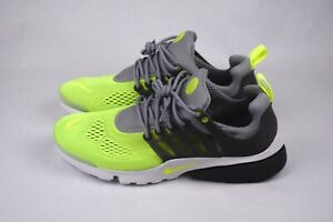 NEW-NIKE-AIR-PRESTO-ULTRA-BREATHE-WOLF-GREY-VOLT-SHOES-SIZE-12-898020-004