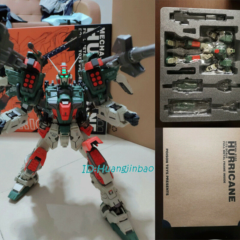 1 72 Mecha-X103 Hurricane Action Figure Posion Toys Presents Model In Box moshow