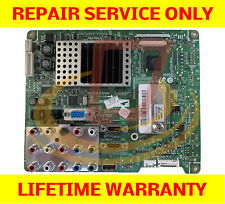 Samsung Tv Main Board Repair Service For LN46A540P2FXZA Cycling On and OFF