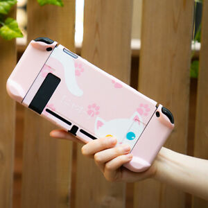 Protective-Shell-Case-Grip-Hard-Thin-Shell-Dockable-for-Nintendo-Switch-Cover