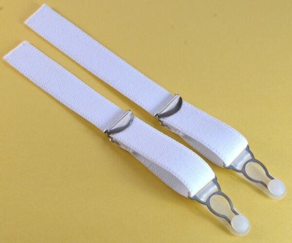 Straps, Strapsbänder 2cm breit mit Strumpfhalterclip zum Annähen.