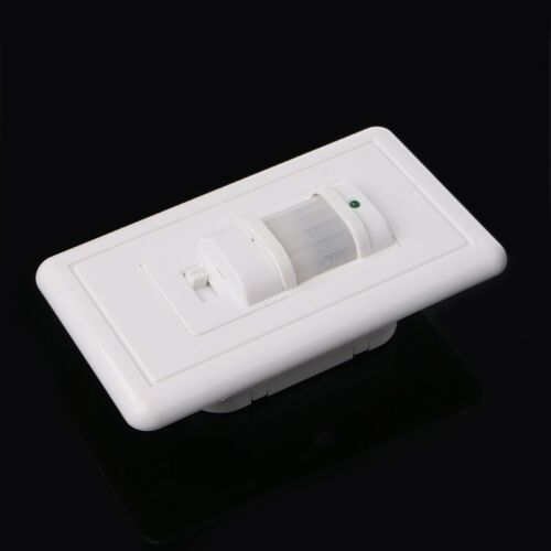 5x Body Infrared Motion Sensor Switch Detector Wall Mount LED Lamp Light Control
