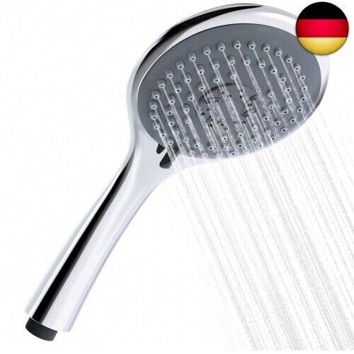 FYLINA Duschkopf Croma 105mm Handbrause 3 Strahlarten Dusche,Universal