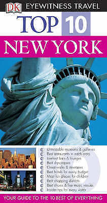 New York (DK Eyewitness Top 10 Travel Guide), Berman, Eleanor, Very Good Book