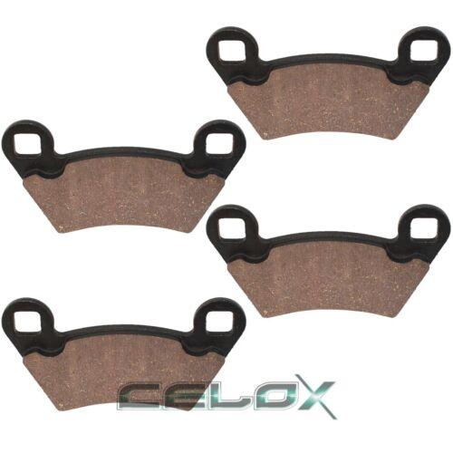 Rear Brake Pads For Polaris Ranger RZR XP 800 2010 2011 2012 2013