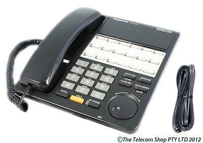 plastic /& paper New cords Panasonic KX-T7420 Business Telephone in Black